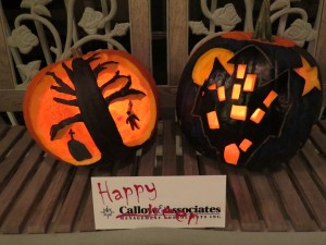 Callow & Associates - Pumpkin Carving Competition to raise funds and awareness for breast cancer on behalf of Rethink Breast Cancer.