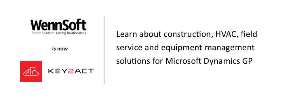 Construction, HVAC and field service management solutions for Microsoft Dynamics GP