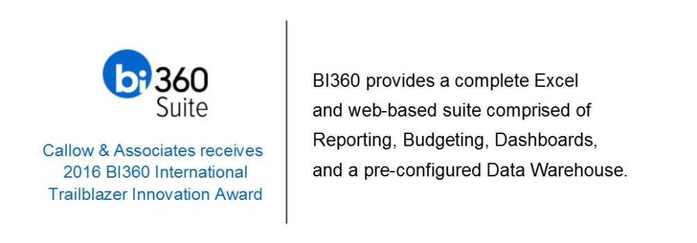 BI360 for Microsoft Dynamics GP